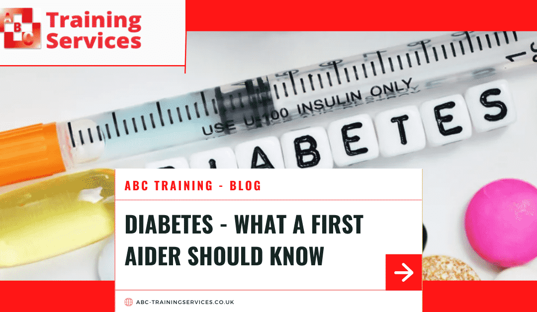 Diabetes – what a first aider should know