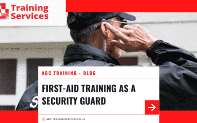 First-aid training as a Security Guard