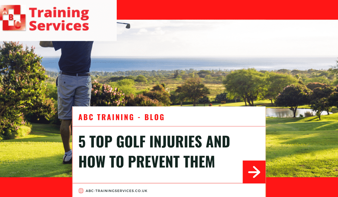 5 Top Golf Injuries and How to Prevent Them